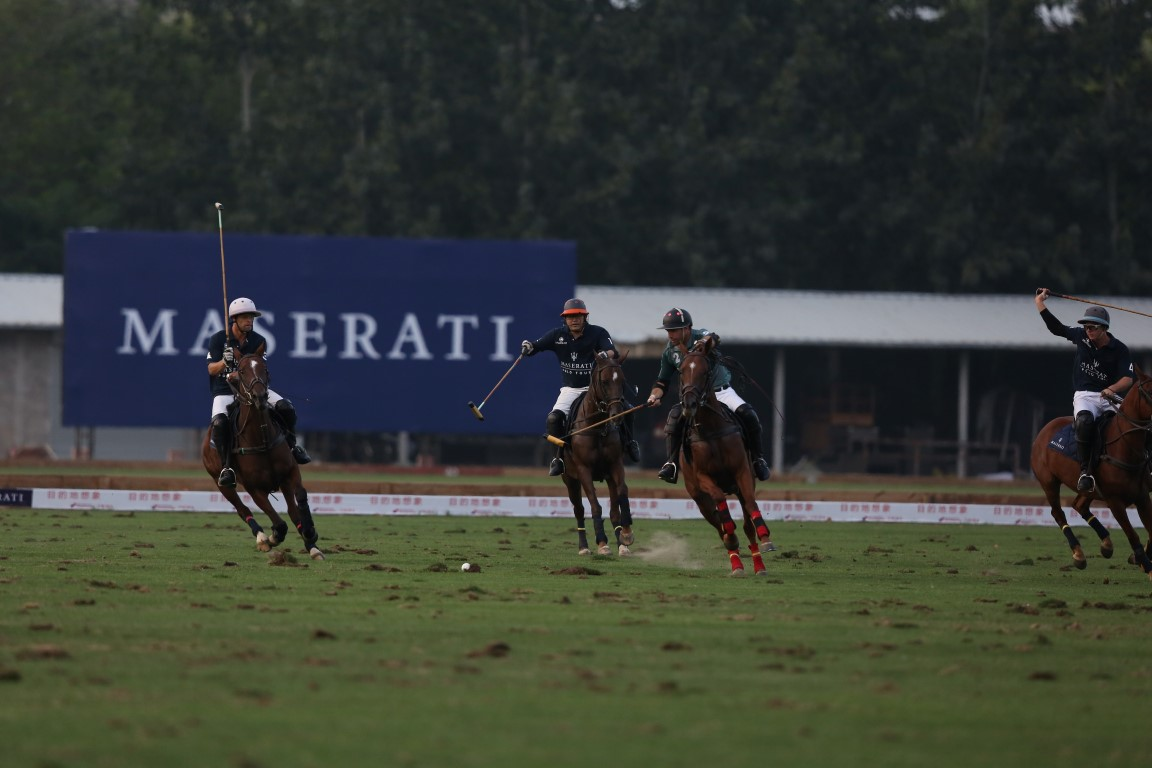 Maserati 2016 China Open Polo Tournament 4