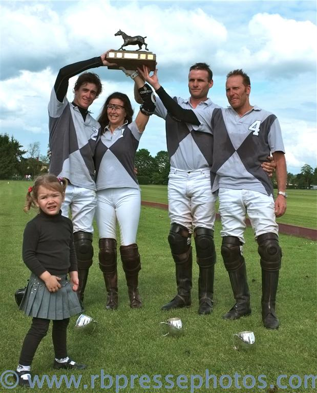 Polo Club Chantilly, France, Sanctus murus first winner in 2012