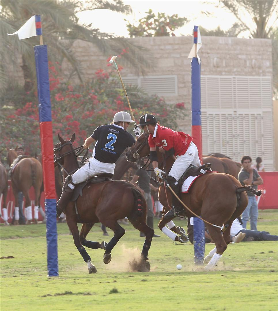 Cartier sparkle in their own Polo Challenge