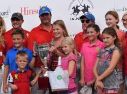 "OAK BROOK POLO HELPS RAISE NEARLY $25K AT ""TEAM UP FOR TONY"" BENEFIT POLO MATCH"
